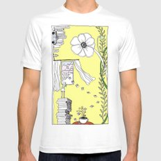 Inspiration and Dreams Mens Fitted Tee White MEDIUM
