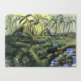 Jungle Patrol Canvas Print