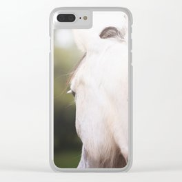 Wild Heart, No. 1 Clear iPhone Case