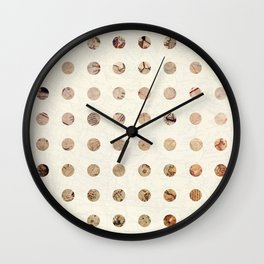 The World is Flat Wall Clock