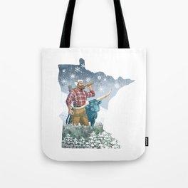 Minnesota Paul Tote Bag