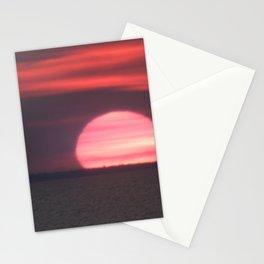 Sundown at Aboiteau Beach Stationery Cards