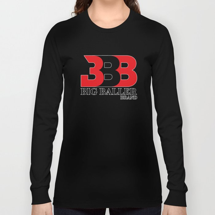 004dba626ca5 Big Baller Brand in red black Long Sleeve T-shirt by aristotelles ...