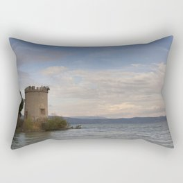 Outside In The Distance Rectangular Pillow