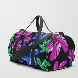 PinWheels on Black Duffle Bag