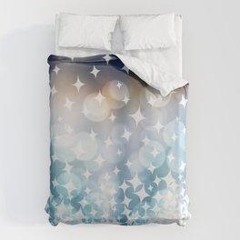 Stardust and Light Duvet Cover