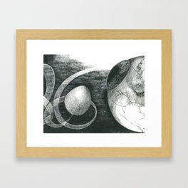 The Riddle Of Eyes (4/17) Framed Art Print