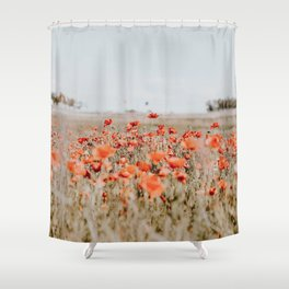 flower field Shower Curtain