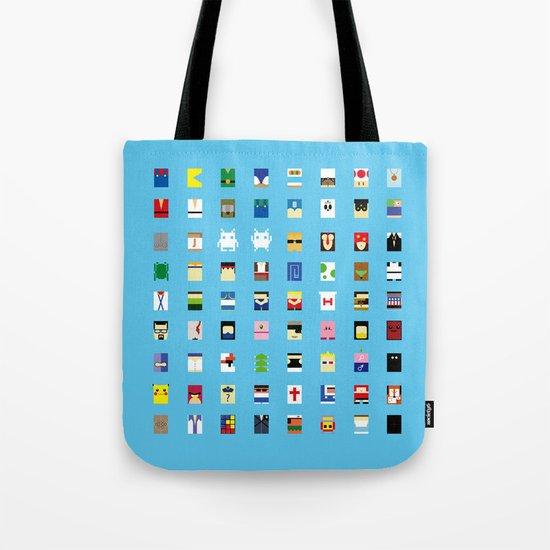 Minimalism beloved Videogame Characters Tote Bag