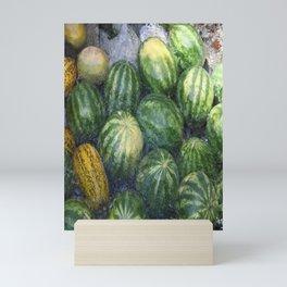 Cool Watermelon Mini Art Print