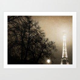 Vieux Paris Art Print