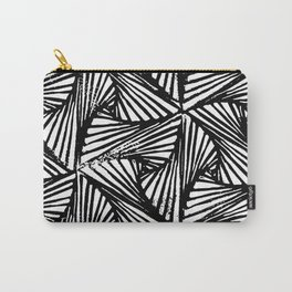 Paradox Triangle Repeat Pattern Carry-All Pouch