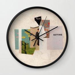 new setting Wall Clock