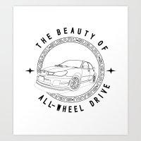 AWD Art Print