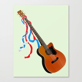 Acoustic Bass Canvas Print