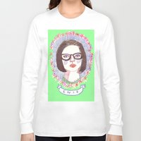 ghost world Long Sleeve T-shirts featuring Ghost World by EmilyScribbles