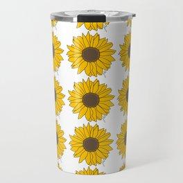 Sunflower Power Travel Mug