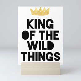 KING OF THE WILD THINGS Mini Art Print