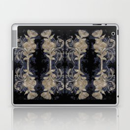 Poppies Goldish Gothic Laptop & iPad Skin