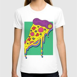 DRIPPING COLORUL PIZZA T-shirt
