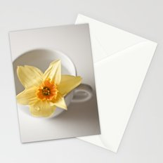 Daffodil in a Cup Stationery Cards