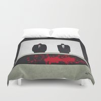 pulp Duvet Covers featuring Pulp by Osvaldo Casanova