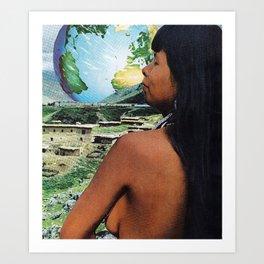 Le Monde Art Print
