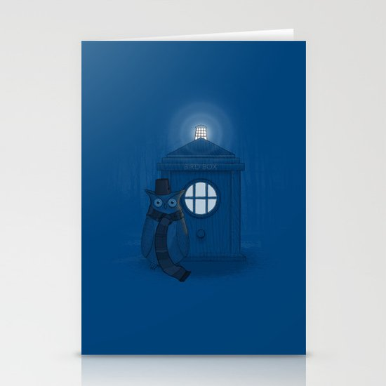 Dr Who Who? Stationery Cards