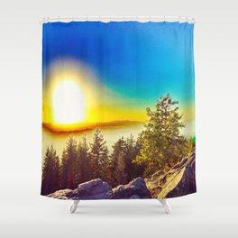 Oregon Wasteland Shower Curtain