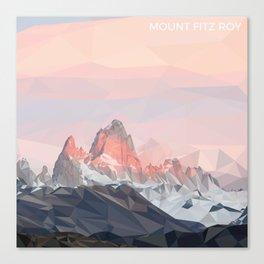 Mount Fitz Roy Canvas Print