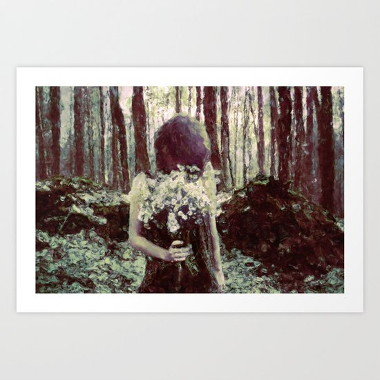 Silenced By The Night Art Print