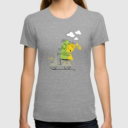 scooter ride! T-shirt