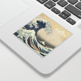 The Great Wave off Kanagawa (Highest Resolution) Sticker