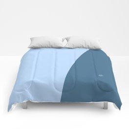 Blue Wave #skyblue #home #kirovair #decor #buyart #minimal #bluedecor Comforters