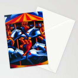 Mark Gertler Merry Go Round Stationery Cards