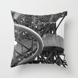 arcelor mittal orbit, london #2 Throw Pillow