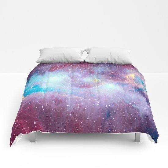 Quartz & Turquoise Galaxy Comforters