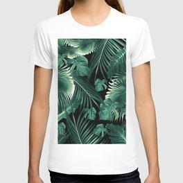 Tropical Jungle Leaves Dream #6 #tropical #decor #art #society6 T-shirt