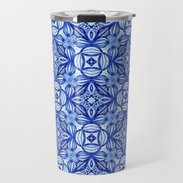 For the Love of Blue - Pattern 372 Travel Mug