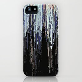 Ice Pixels iPhone Case