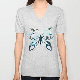 Butterfly 222 Unisex V-Neck