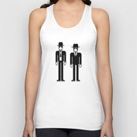 blues brothers Tank Tops featuring The Blues Brothers by Band Land