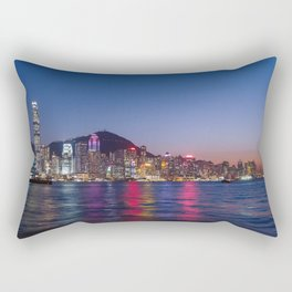 Hong Kong Central Rectangular Pillow