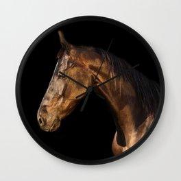 marwary horse Wall Clock
