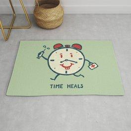 Time heals Rug