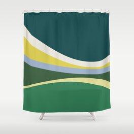 july meadow Shower Curtain