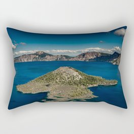 Crater Lake Love Rectangular Pillow