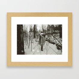 The sleepwalker no2 Framed Art Print