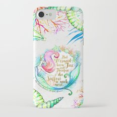 But A Mermaid Has No Tears iPhone 7 Slim Case