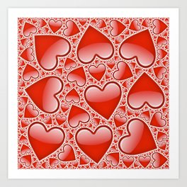 for lover Art Print